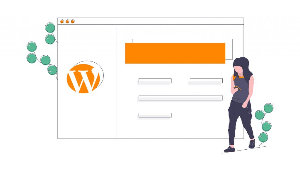 Illustration CMS WordPress